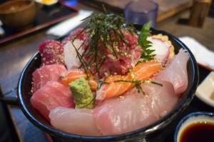 海鮮丼特大!(1500円)